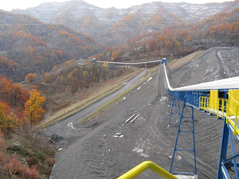 Coal Refuse Conveyor